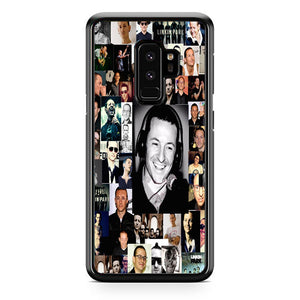 Chester Bennington Linkin Park College Samsung Galaxy S9 Plus Case | Frostedcase