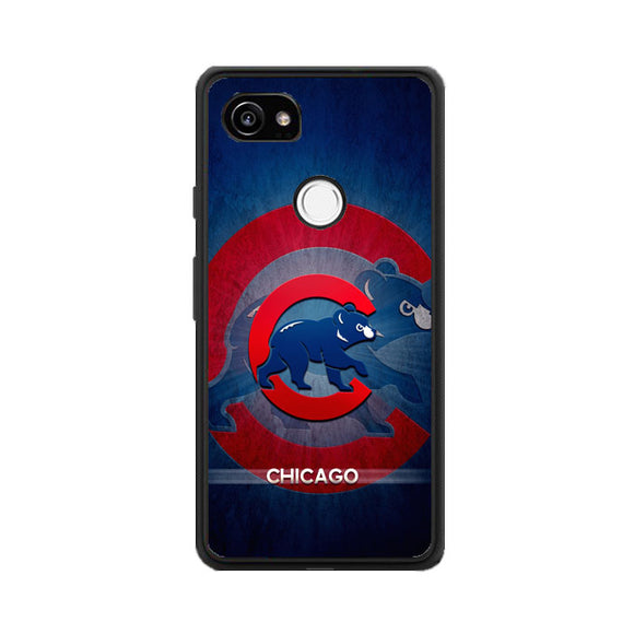 Chicago Cubs Bear Google Pixel 2 Case | Frostedcase