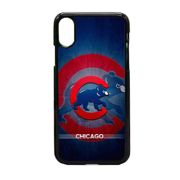Chicago Cubs Bear iPhone XS Case | Frostedcase