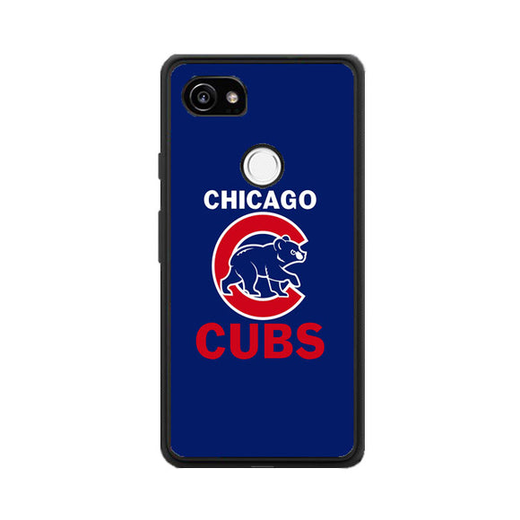 Chicago Cubs Google Pixel 2 XL Case | Frostedcase
