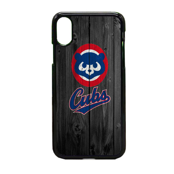 Chicago Cubs Logo iPhone XS Case | Frostedcase