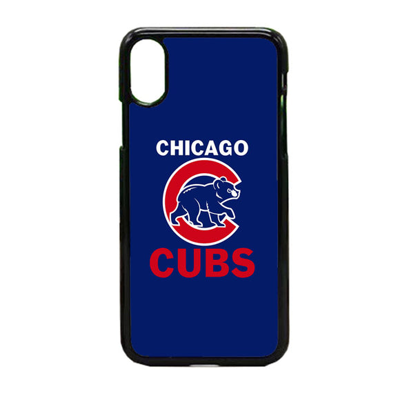 Chicago Cubs iPhone X Case | Frostedcase