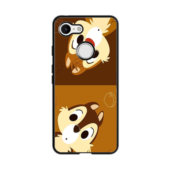 Chip And Dale Disney Google Pixel 3 XL Case | Frostedcase