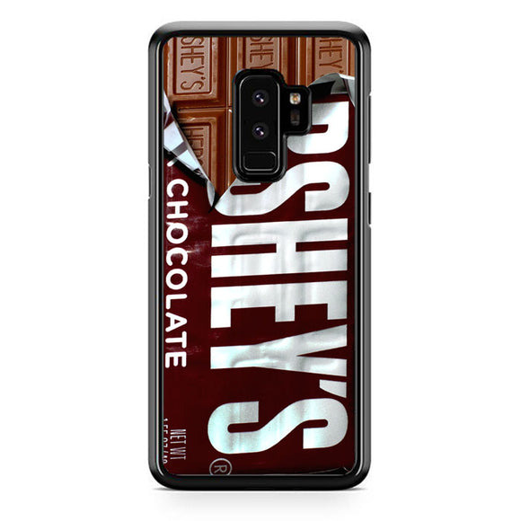 Chocolate En Barra Hersheys Samsung Galaxy S9 Plus Case | Frostedcase