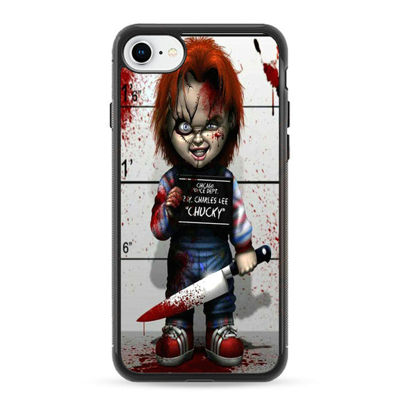 Chucky Doll Horror Movie iPhone 8 Case | Frostedcase