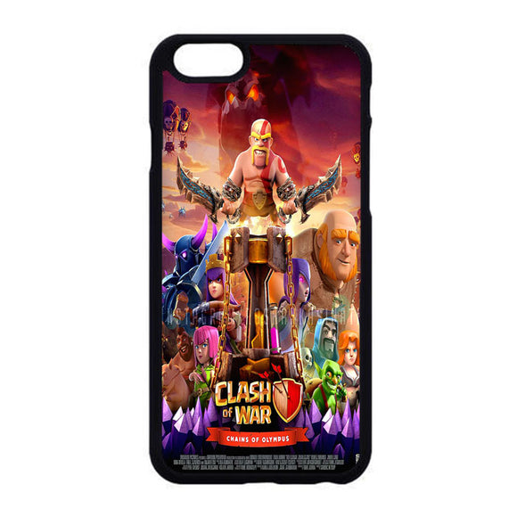 Clash Of Clans Poster iPhone 6|6S Case | Frostedcase