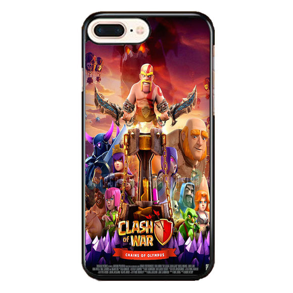 Clash Of Clans Poster iPhone 8 Plus Case | Frostedcase