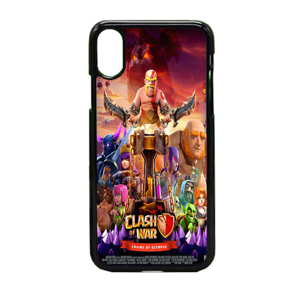 Clash Of Clans Poster iPhone X Case | Frostedcase