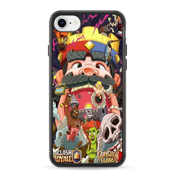 Clash Royale iPhone 8 Case | Frostedcase
