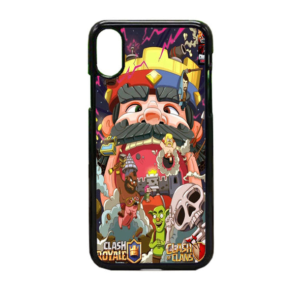 Clash Royale iPhone X Case | Frostedcase