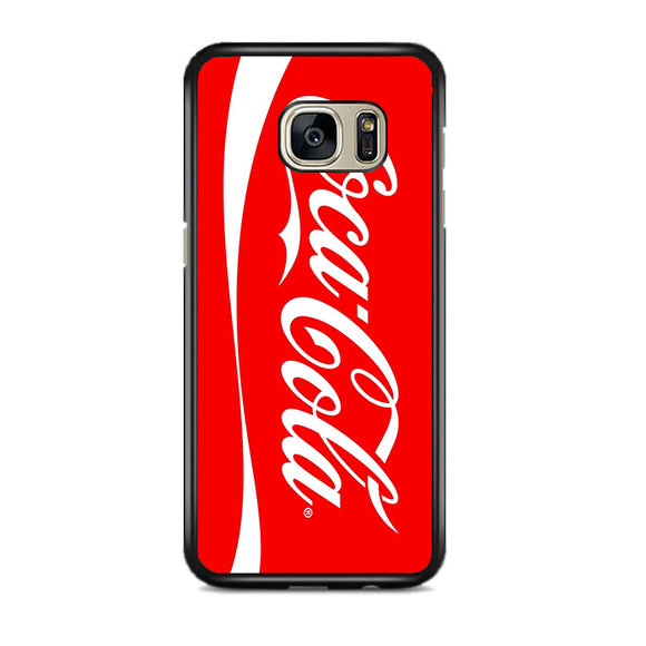Coca Cola Logo Samsung Galaxy S7 EDGE Case | Frostedcase