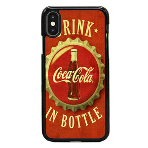 Coca Cola Vintage iPhone X Case | Frostedcase