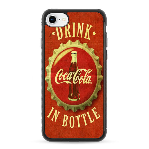 Coca Cola Vintage iPhone 8 Case | Frostedcase