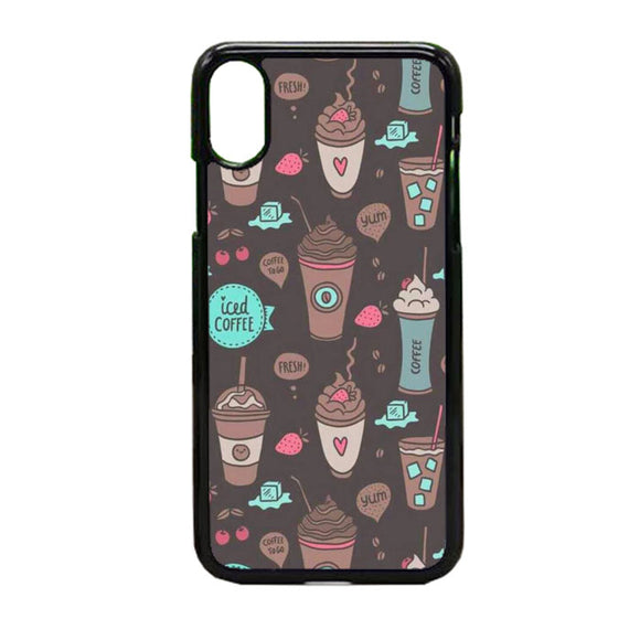 Coffe iPhone X Case | Frostedcase