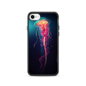 Colorful Jellyfish iPhone 8 Case | Frostedcase