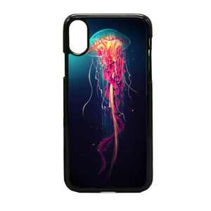 Colorful Jellyfish iPhone X Case | Frostedcase
