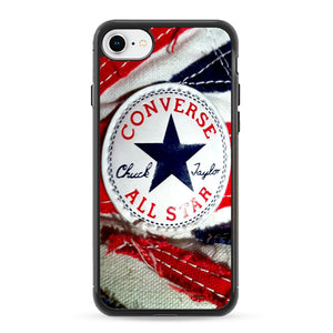 Converse All Star Chuck Taylor Red And Blue Flag iPhone 7 Case | Frostedcase