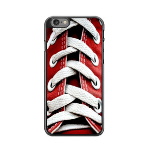 Converse Red Shoelace Of High Waist iPhone 6|6S Case | Frostedcase