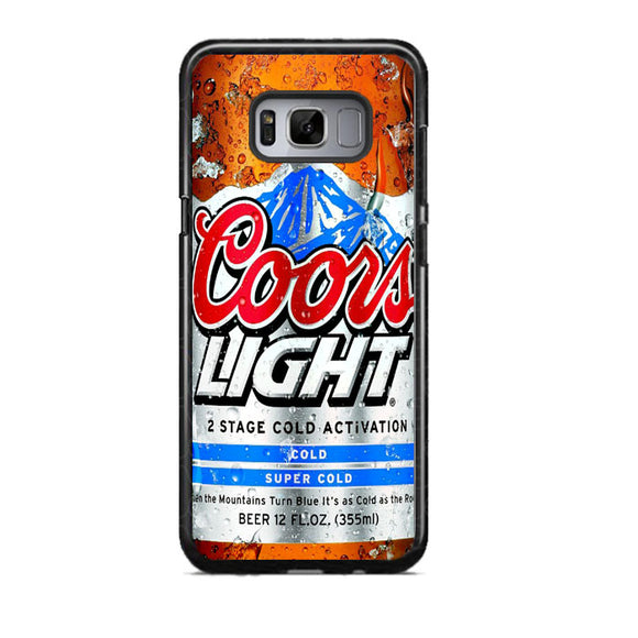 Coors Light Beer Cold Samsung Galaxy S8 Case | Frostedcase