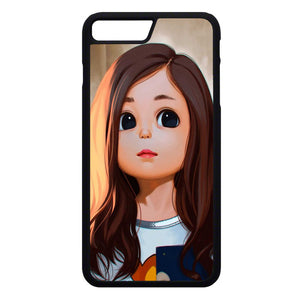 Cute Cartoon Characters Female iPhone 7 Plus Case | Frostedcase