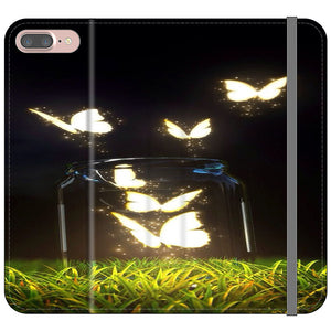 Cute Wallpapers Butterfly Iphone 7 Plus Flip Case Frostedcase