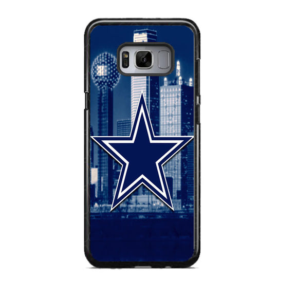 Dallas Cowboys City Themed Samsung Galaxy S8 Case | Frostedcase