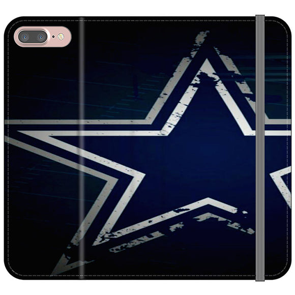 Dallas Cowboys iPhone 8 Plus Flip Case | Frostedcase