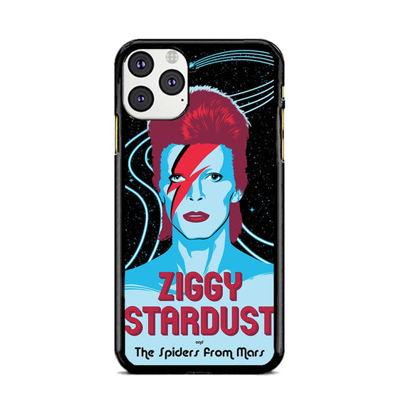 David Bowie Ziggy Stardust And The Spiders From Mars iPhone 11 Pro Max Case | Frostedcase