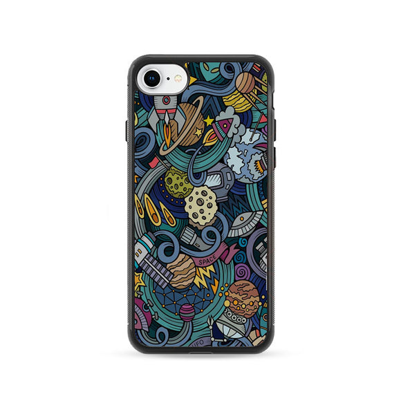 De Planet Animados iPhone 8 Case | Frostedcase