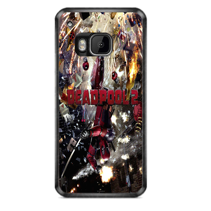 Deadpool 2 Movie Poster Imax HTC One M9 Plus Case | Frostedcase