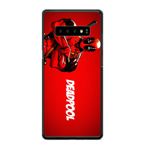 Deadpool Poster Samsung Galaxy S10 Case | Frostedcase
