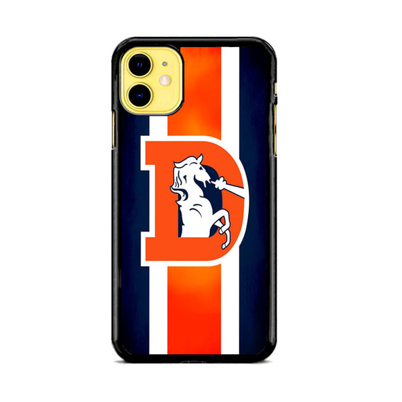 Denver Broncos Flag Houses iPhone 11 Case | Frostedcase
