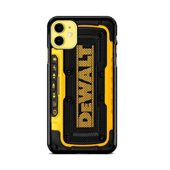 Dewalt Jobsite Radio iPhone 11 Case | Frostedcase