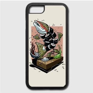 Dolly Noire Sushi iPhone 7 Case | Frostedcase