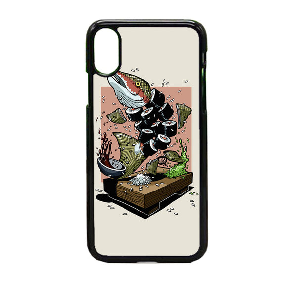Dolly Noire Sushi iPhone X Case | Frostedcase