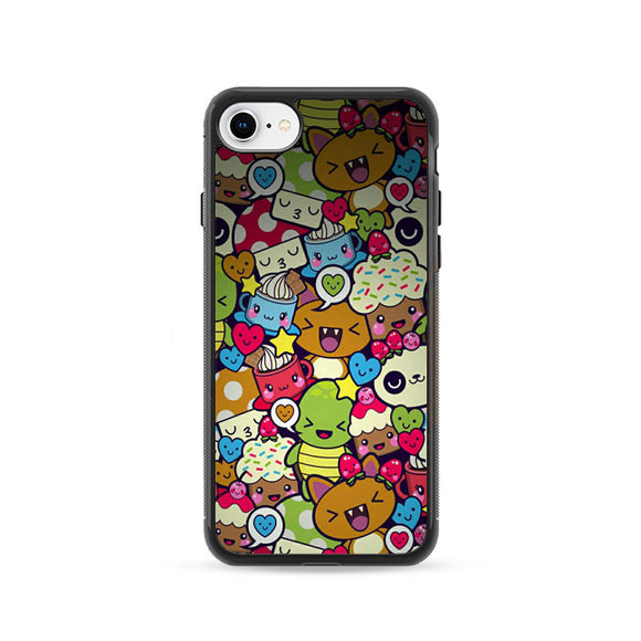 Doodle iPhone 8 Case | Frostedcase