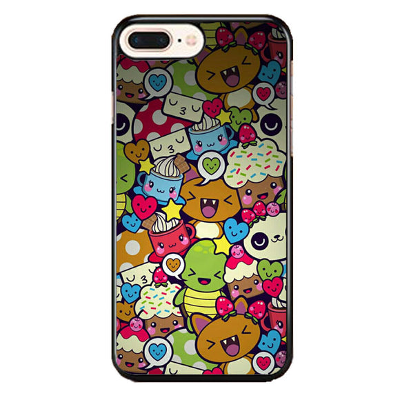 Doodle iPhone 8 Plus Case | Frostedcase