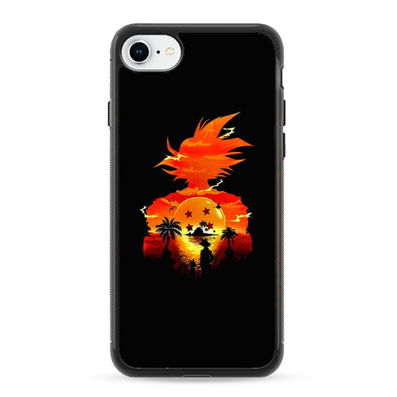 Dragon Ball Sunset iPhone 8 Case | Frostedcase