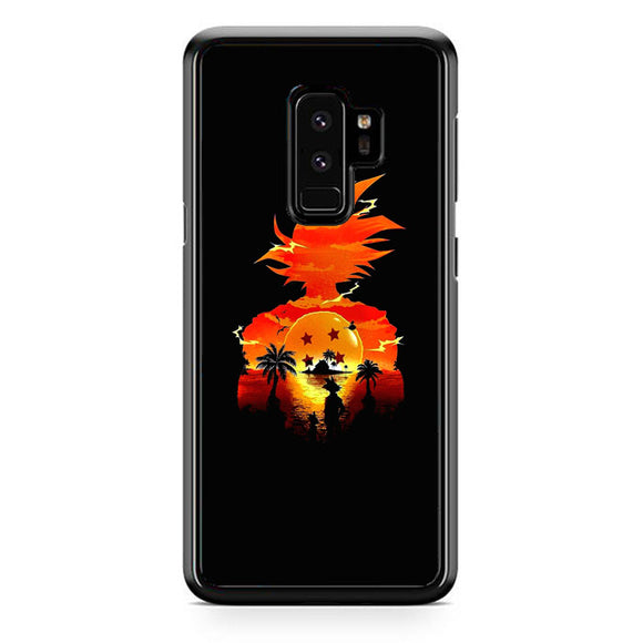 Dragon Ball Sunset Samsung Galaxy S9 Plus Case | Frostedcase