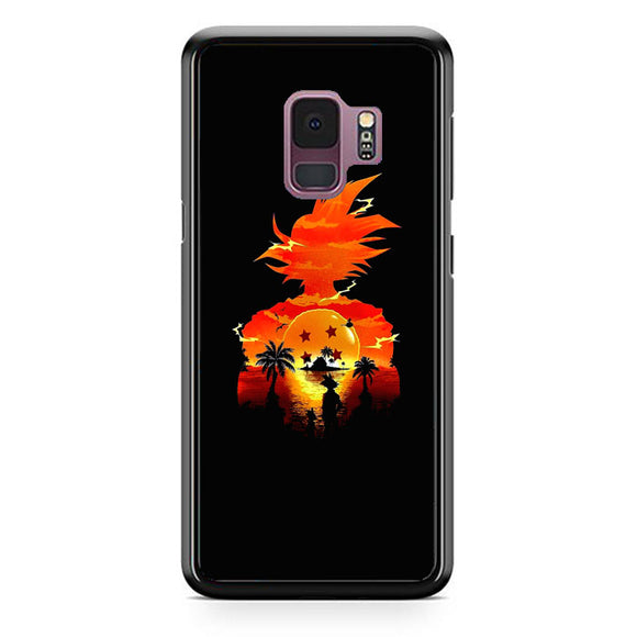 Dragon Ball Sunset Samsung Galaxy S9 Case | Frostedcase
