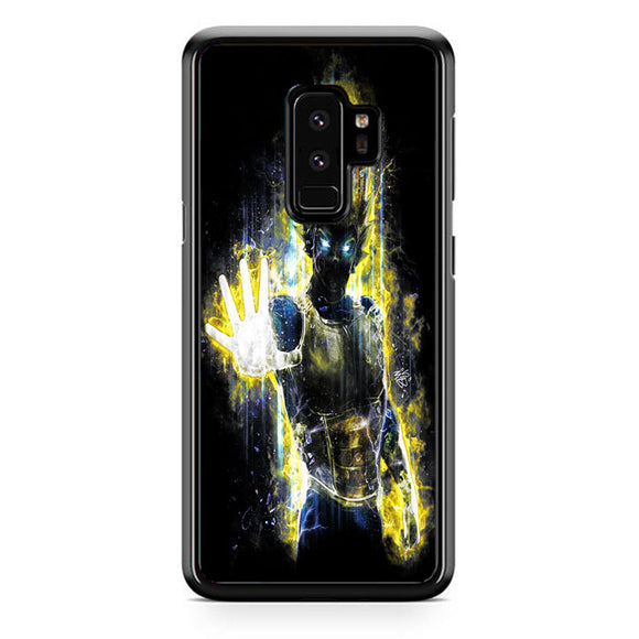 Dragon Ball Z Anime Super Saiyan Vegeta Samsung Galaxy S9 Plus Case | Frostedcase