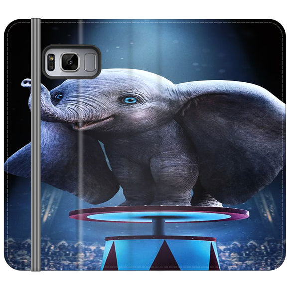 Dumbo Circus Movie Samsung Galaxy S8 Plus Flip Case | Frostedcase