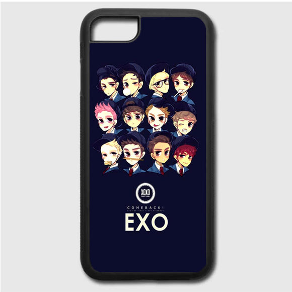 Exo Illustration iPhone 7 Case | Frostedcase