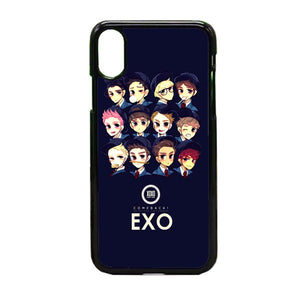 Exo Illustration iPhone X Case | Frostedcase