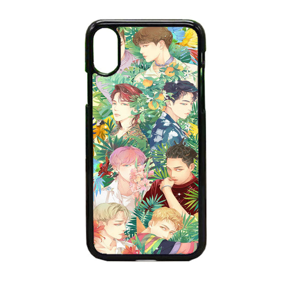 Exo Kokobop Art iPhone X Case | Frostedcase