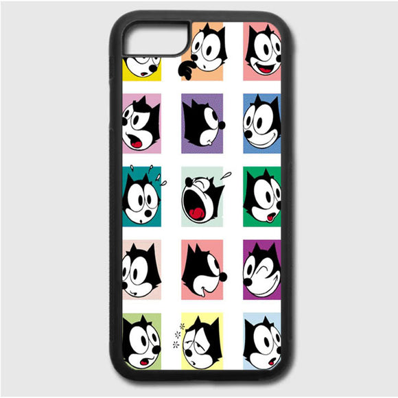 Face Felix iPhone 7 Case | Frostedcase