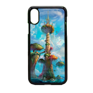 Fantasy Of Animation iPhone X Case | Frostedcase