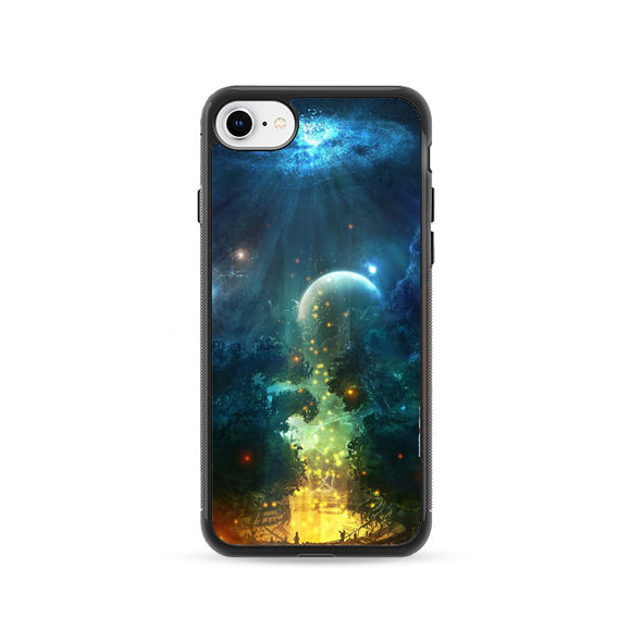 Fantasy Of Night iPhone 8 Case | Frostedcase