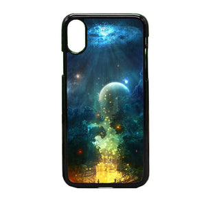Fantasy Of Night iPhone X Case | Frostedcase