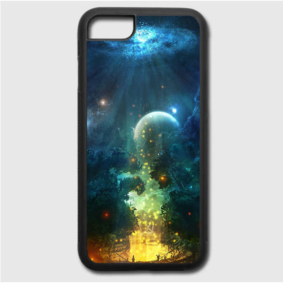 Fantasy Of Night iPhone 7 Case | Frostedcase